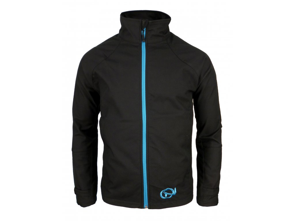 Pánská softshellová bunda Crackonosh - Sade Blue (Velikost XXL)