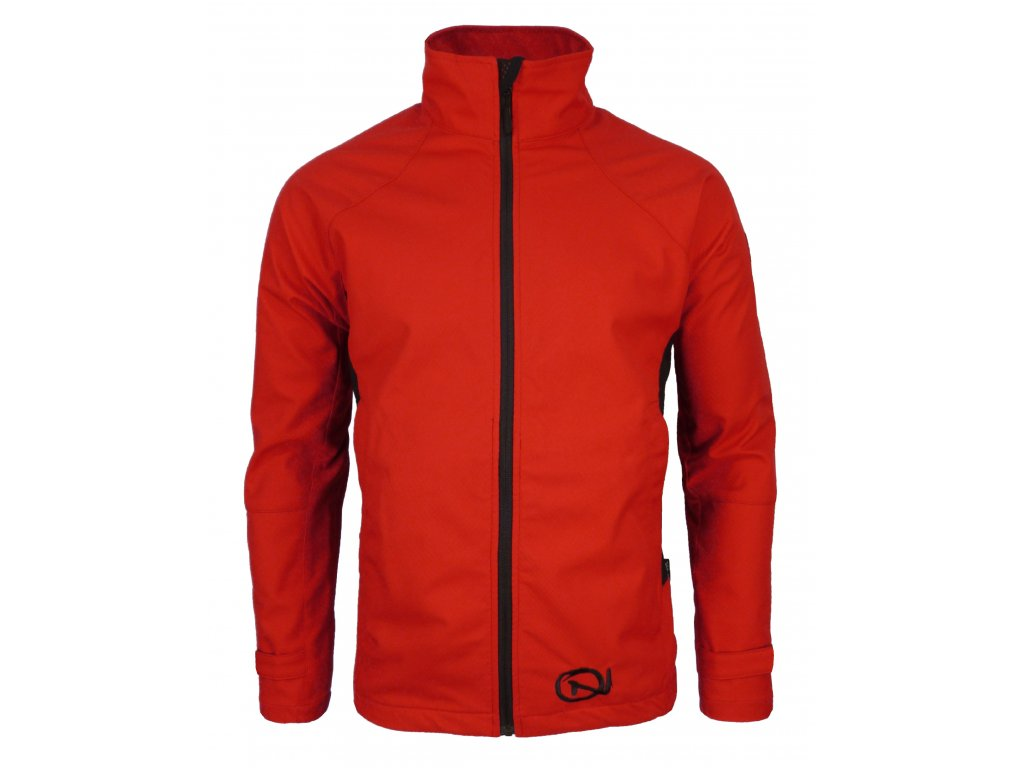 Pánská softshellová bunda Crackonosh - Sade Red (Velikost XXL)