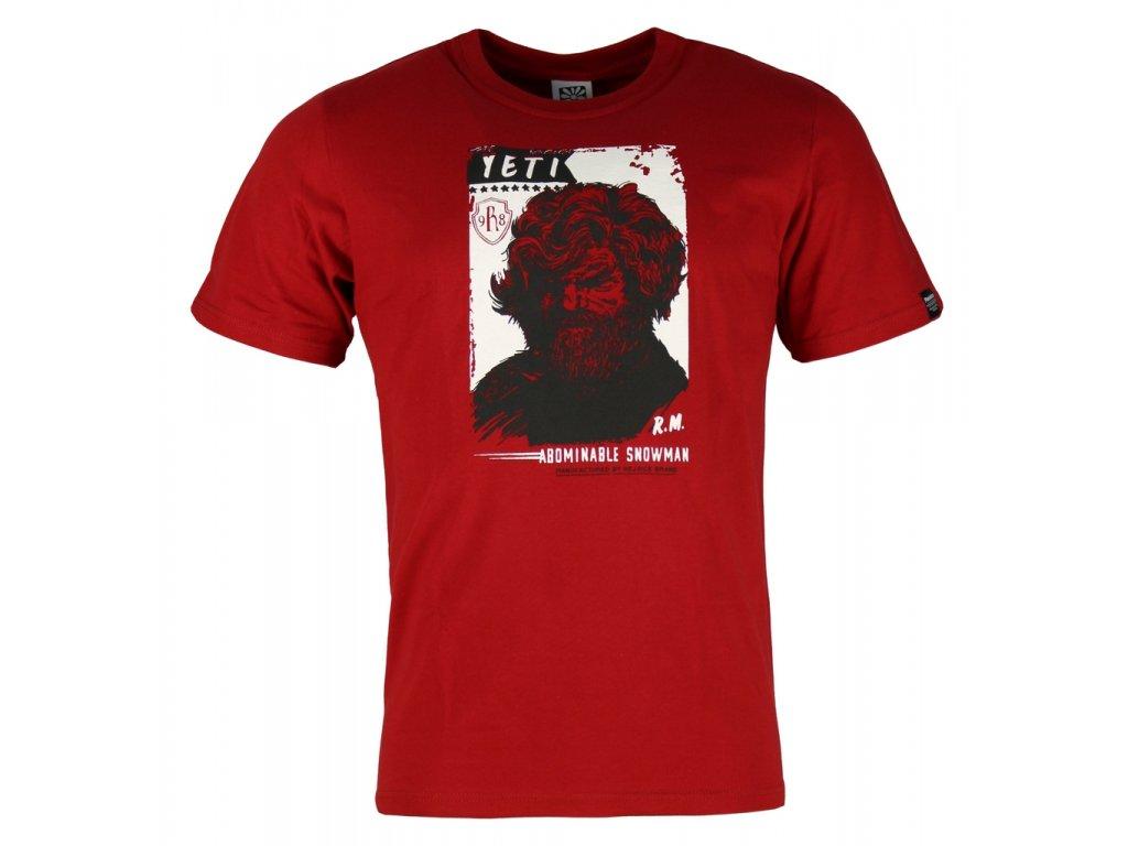 Pánské bavlněné tričko Rejoice - Gentiana Men (červené) (Velikost XXXL)