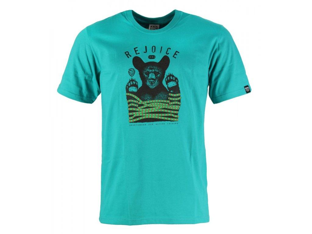 Pánské bavlněné tričko Rejoice - Gentiana Men (zelené) (Velikost XXXL)