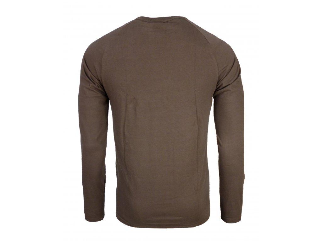 ... Pánské bavlněné tričko s dlouhým rukáve Rejoice - Lamium (hnědé) (Velikost  XXL) 1a8628b3f7