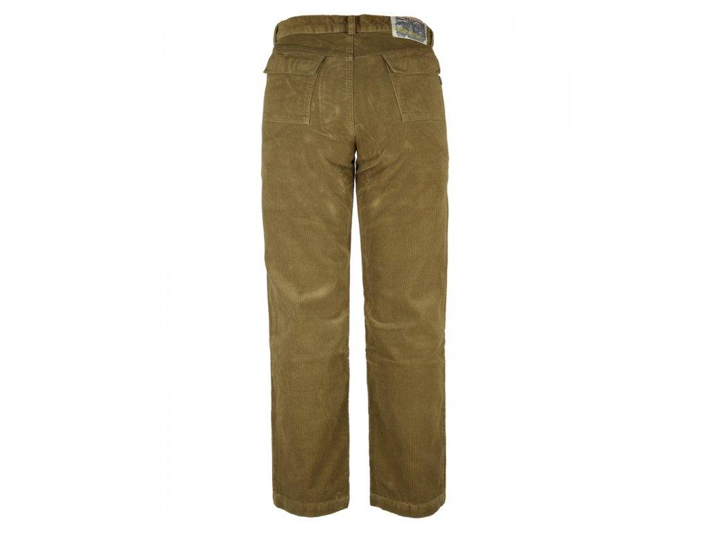 ... Pánské manšestrové kalhoty Rejoice - Worm Wood (hnědé) (Velikost S) 1c0c2e0224