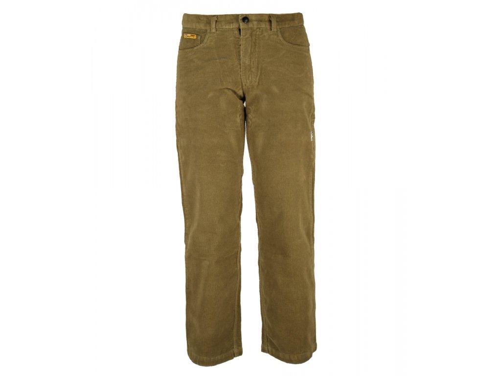 Pánské manšestrové kalhoty Rejoice - Worm Wood (hnědé) - Outdooria.cz 66afa6a8c9