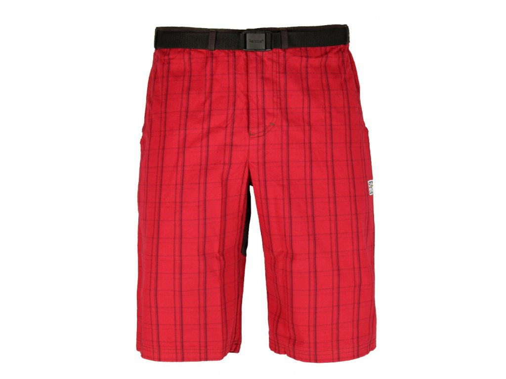 Pánské šortky Rejoice - Hemp Shorts (červeno-hnědé) (Velikost XXXL)