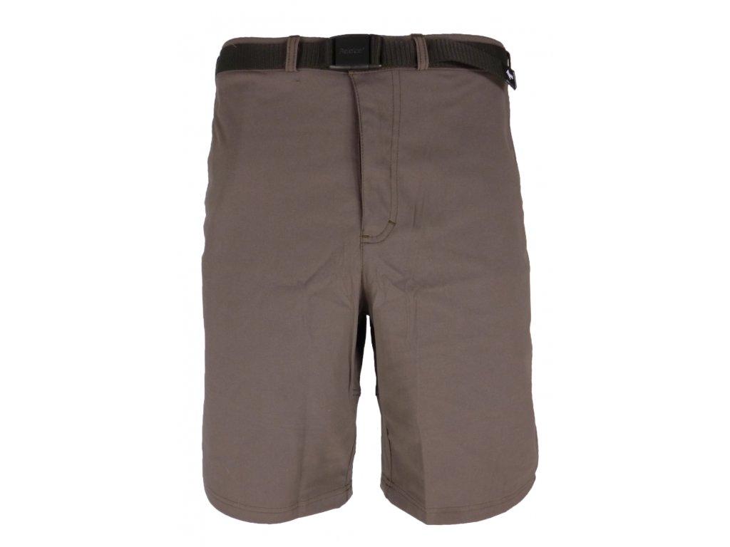 Pánské šortky Rejoice - Hemp Shorts (hnědé) (Velikost XXXL)