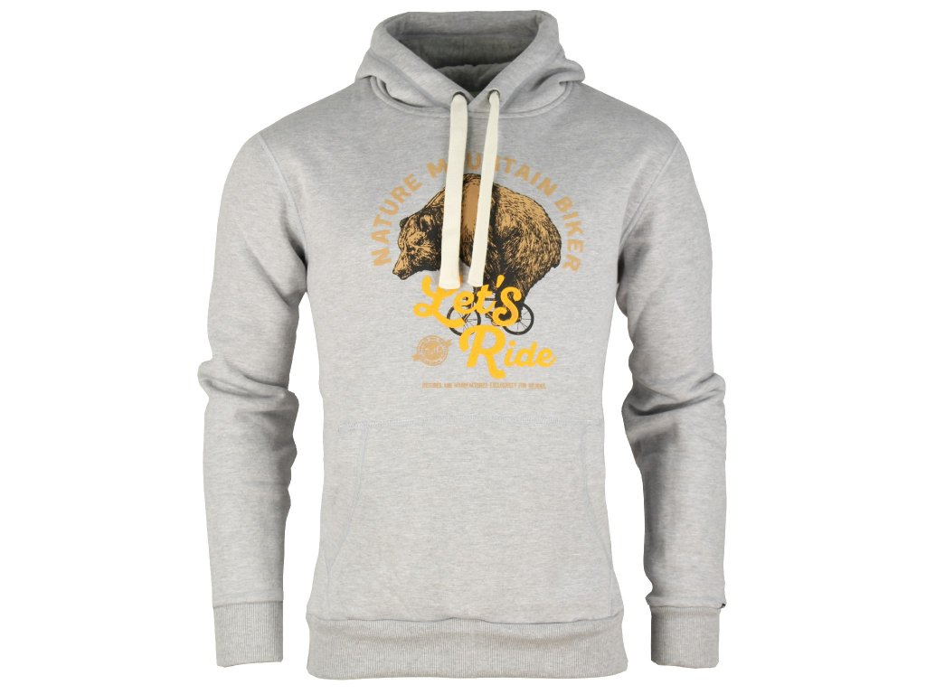 Pánská mikina Rejoice - Hepatica (šedá) d64608b71c