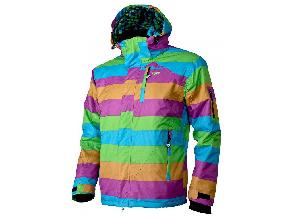 Pánská zimní bunda Woox - Murus Toxique Green