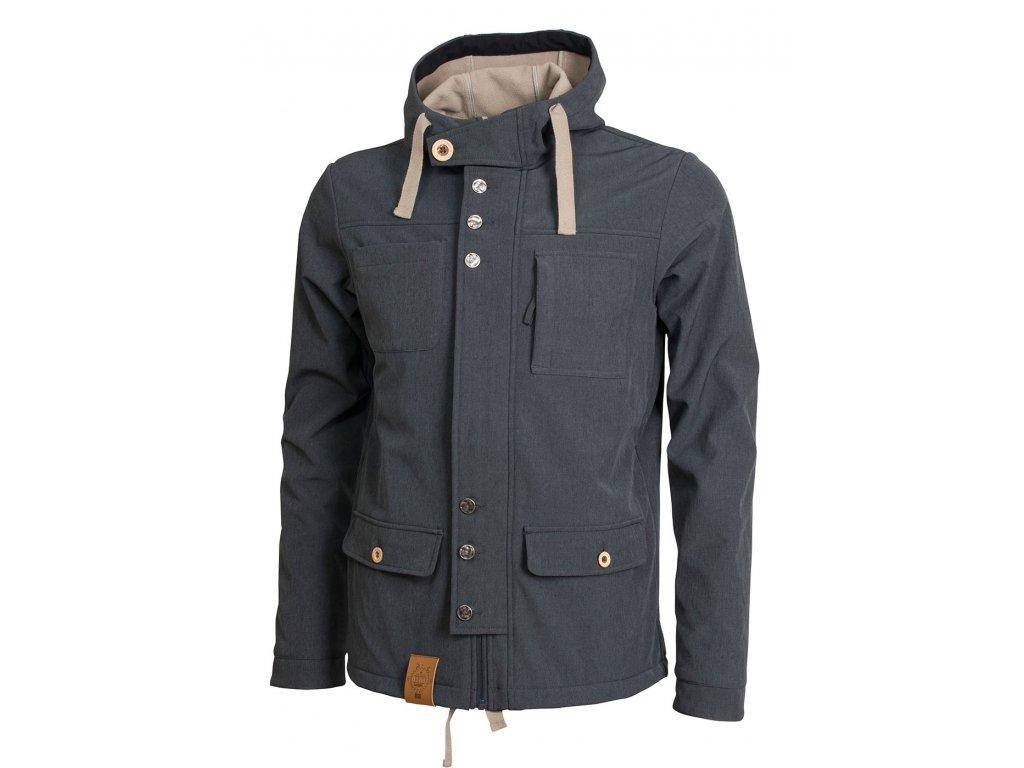 Pánská softshellová bunda Woox - Curt Men´s Softshell Mellange
