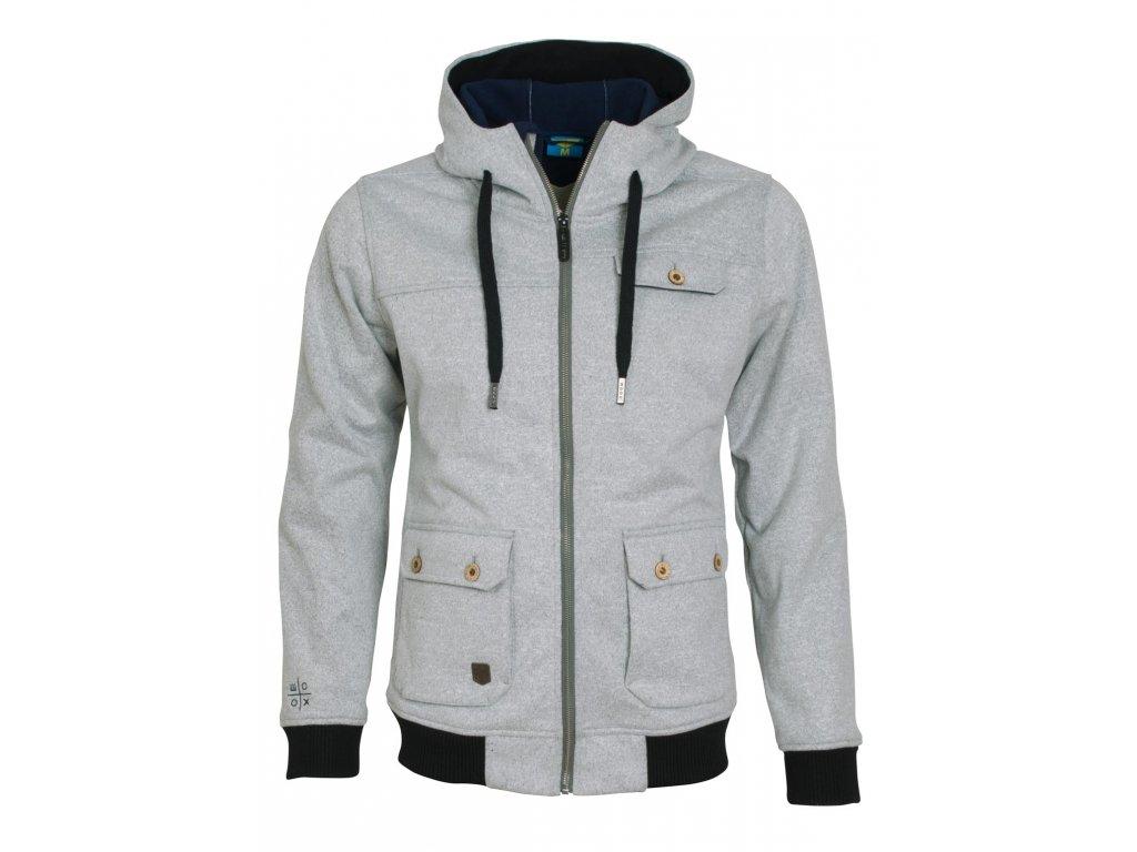 Pánská softshellová bunda Woox - Woolshell Men´s Jacket Grey