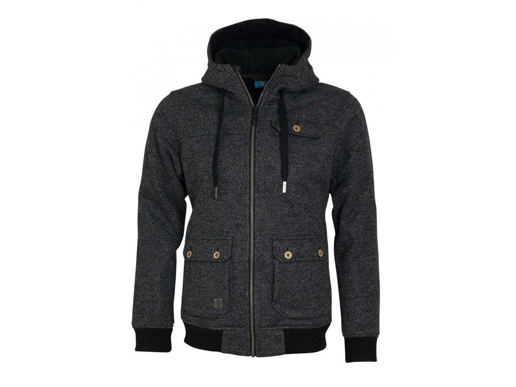 Pánská softshellová bunda Woox - Woolshell Men´s Jacket Dark