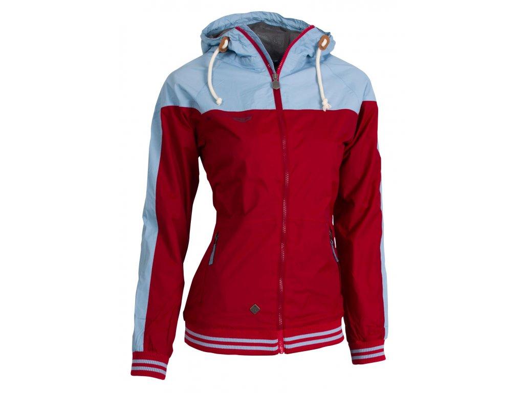 Dámská bunda Woox - Streetshell Ladies´ Red