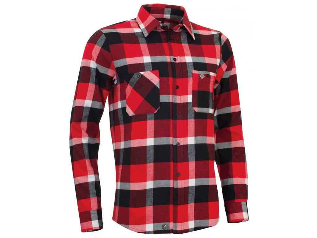 Pánská košile Woox - Flannel Rider Men´s Fiery