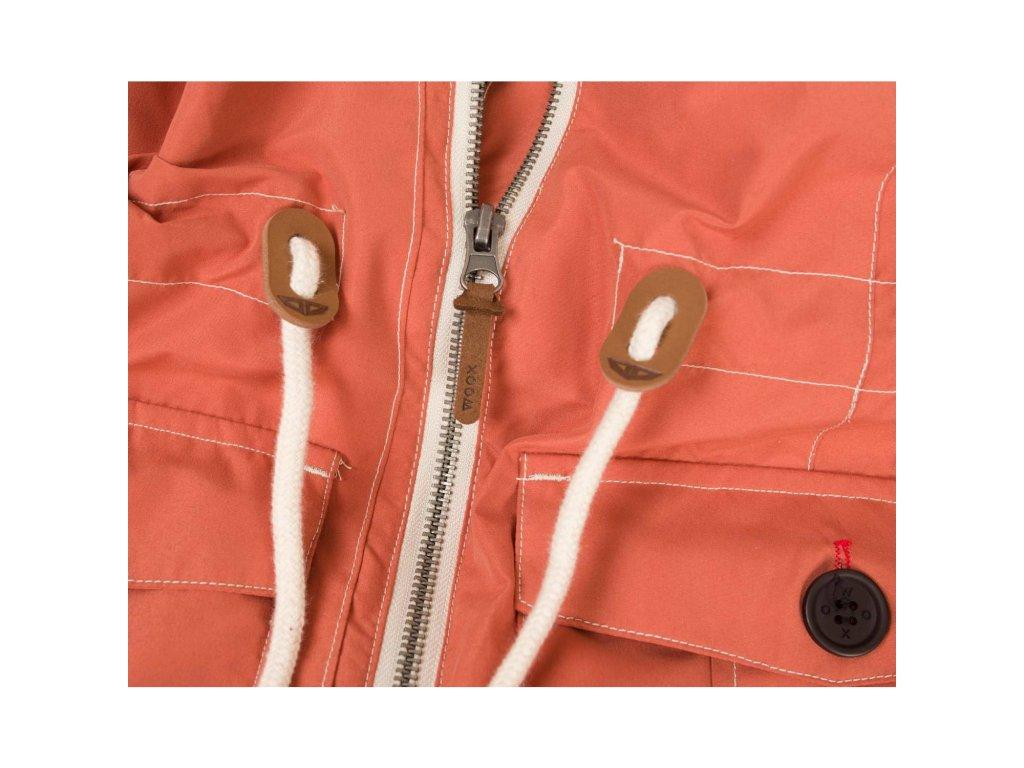 Dámský kabát Woox - Ventus Urban Apricot chica - Outdooria.cz 84b9e525003