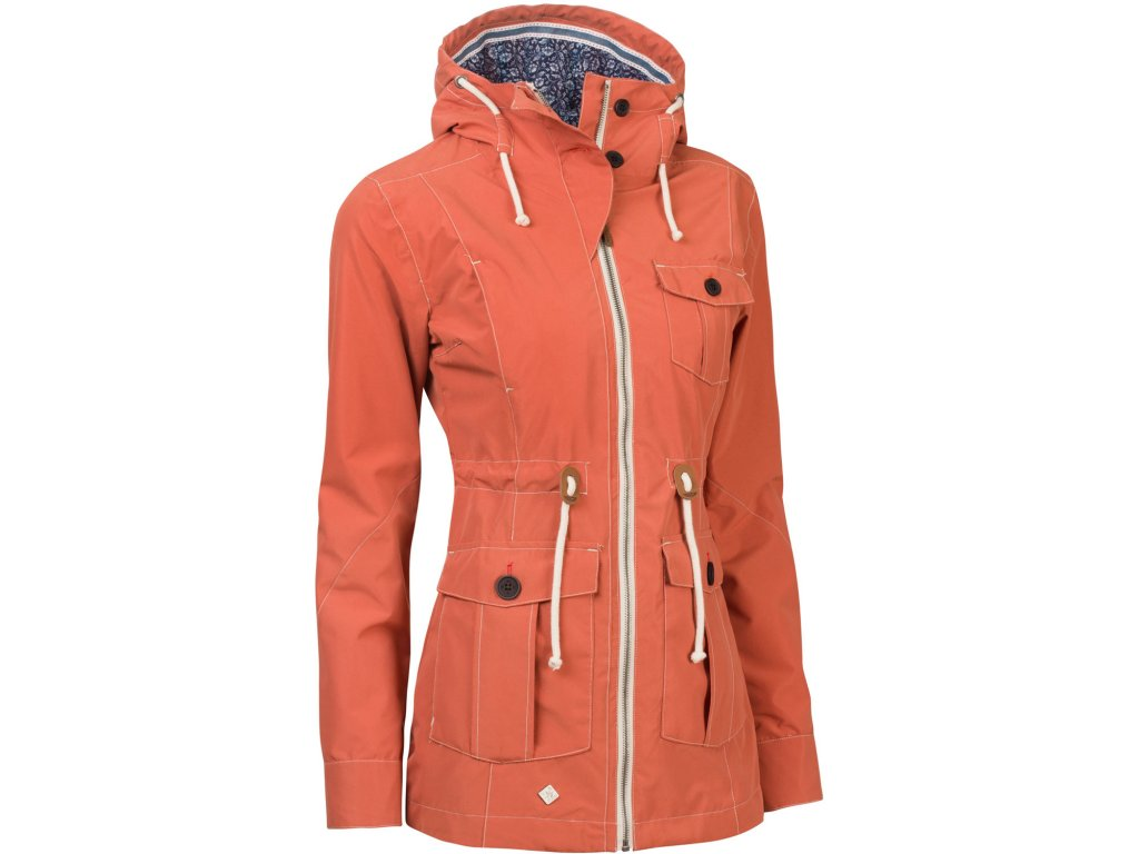 Dámský kabát Woox - Ventus Urban Apricot chica