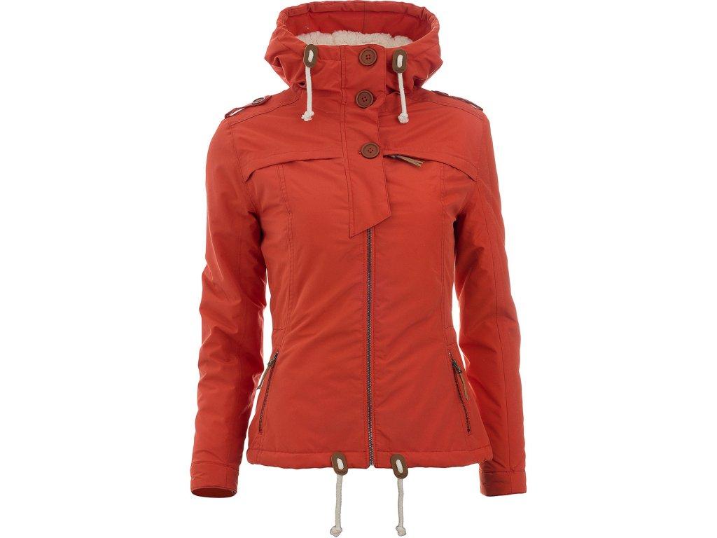 Dámská bunda Woox - Ventus Calida Red Clay Chica