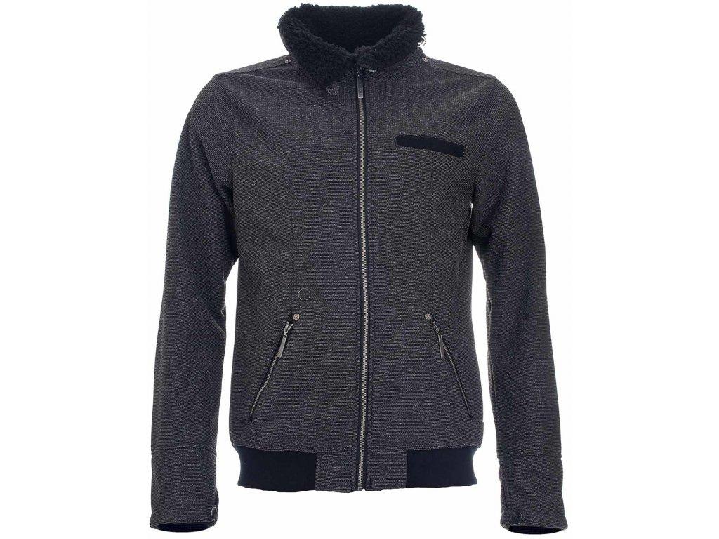 Pánská bunda Woox - Vellon Concha Grey Senor