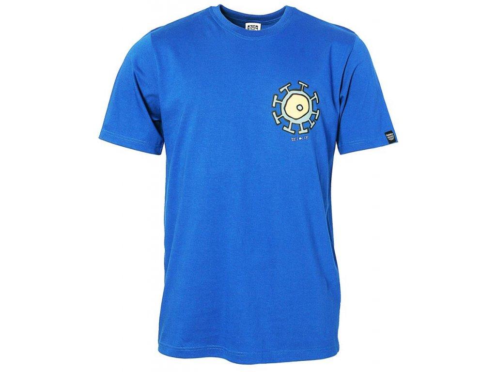 Pánské bavlněné tričko Rejoice - Gentiana Men (modré) - Outdooria.cz 37e831f075