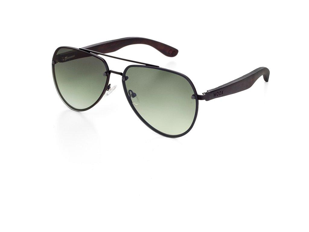 Sluneční brýle Luceo Bambusa Ater