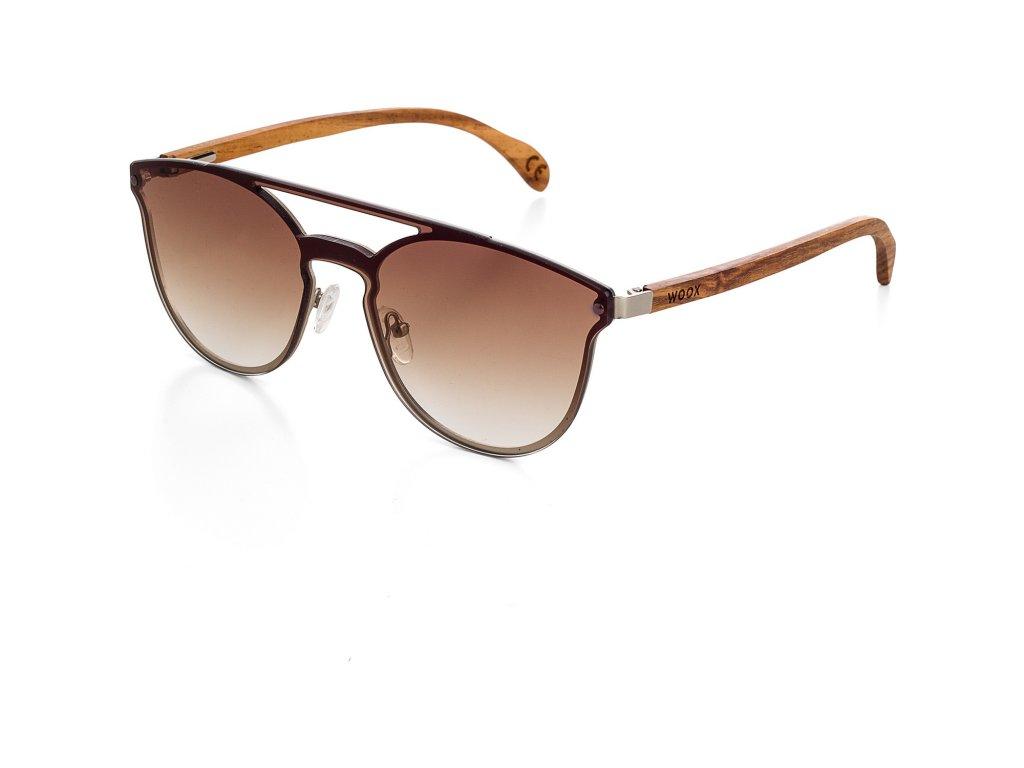 Sluneční brýle Luceo Bambusa Fuscus