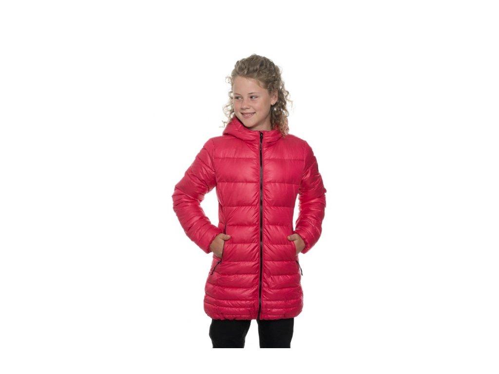 SAM 73 Dívčí zimní kabát GB 524 120 Malinová
