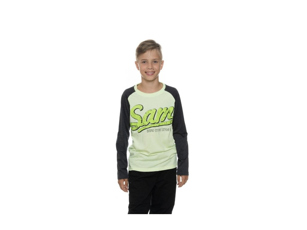 SAM 73 Chlapecké triko s dlouhým rukávem