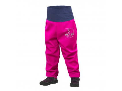 Unuo, Batolecí softshellové kalhoty s fleecem, Fuchsiová