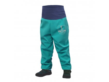 Unuo, Batolecí softshellové kalhoty s fleecem, Sv. Smaragdová