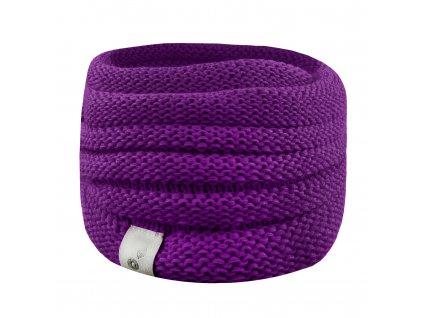 Unuo, Nákrčník pletený, Ostružinová Velikost: UNI