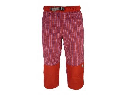 3/4 kalhoty Rejoice - Moth 3/4 (červené) (Velikost XS)