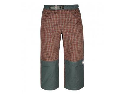 3/4 kalhoty Rejoice - Moth 3/4 (červeno-šedé) (Velikost XS)