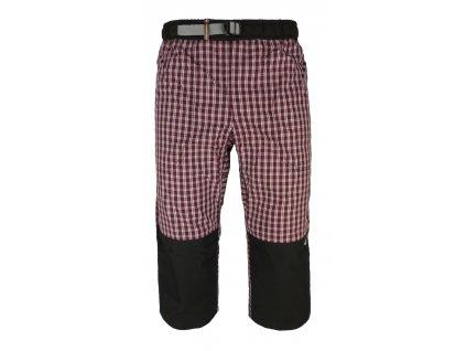 3/4 kalhoty Rejoice - Moth 3/4 (fialovo-černé) (Velikost S)