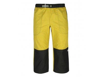 3/4 kalhoty Rejoice - Moth 3/4 (žluto-černé) (Velikost XS)