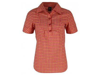 Dámská košile Rejoice - Apricot (růžová) (Velikost XS)