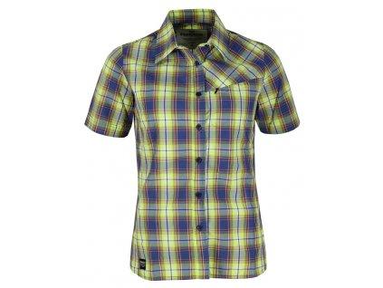 Dámská košile Rejoice - Ginkgo (zeleno-modrá) (Velikost XL)