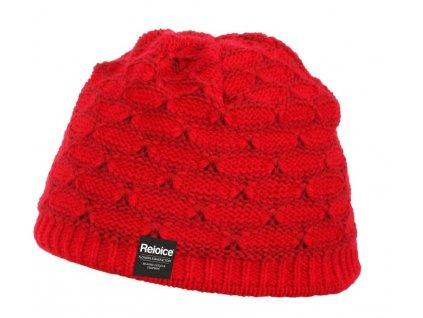 Dámská pletená čepice Rejoice - Adoxa (červená)