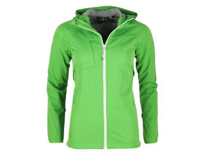 Dámská softshellová bunda Alpine Pro - Bolzana (zelená) (Velikost XL)
