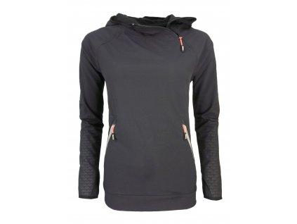 Dámská softshellová bunda Rejoice - Crocus (černá) (Velikost XS)
