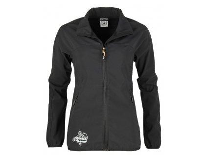 Dámská softshellová bunda Rejoice - Thyme (černá) (Velikost XS)