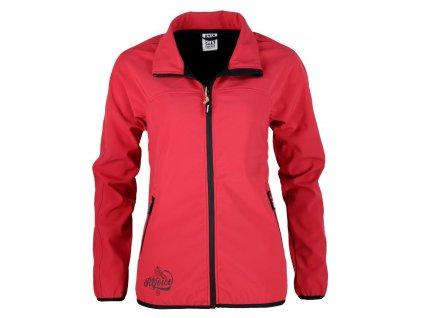 Dámská softshellová bunda Rejoice - Thyme (červená) (Velikost XS)