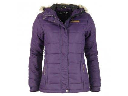 Dámská zimní bunda Alpine Pro - Isabella (fialová) (Velikost XL)