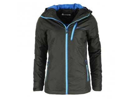 Dámská zimní bunda Alpine Pro - Ivonne (černá) (Velikost XXL)
