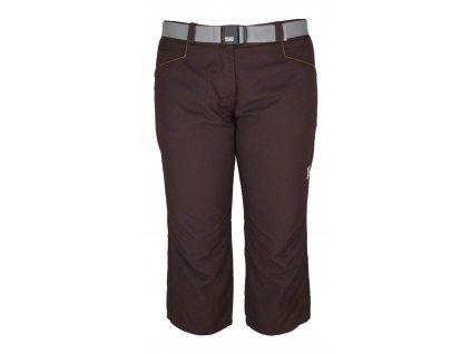 Dámské 3/4 kalhoty Rejoice - Fescue (hnědé) (Velikost XS)