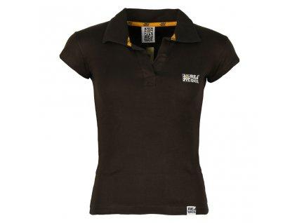 Dámské bavlněné tričko Rejoice - Endive (hnědé) (Velikost XS)