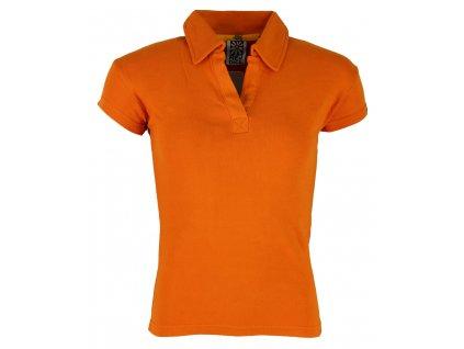 Dámské bavlněné tričko Rejoice - Endive (oranžové) (Velikost S)