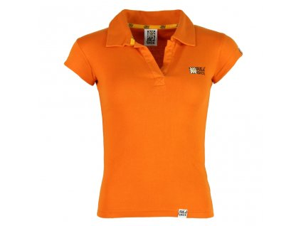 Dámské bavlněné tričko Rejoice - Endive (oranžové) (Velikost XS)