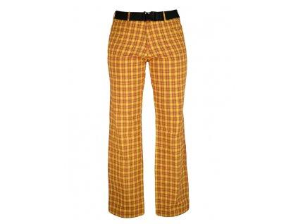 Dámské kalhoty Rejoice - Nettle (oranžové) (Velikost XS)
