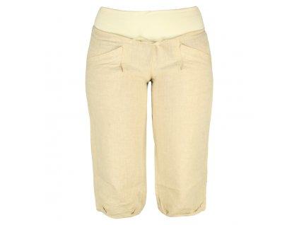 Dámské lněné 3/4 kalhoty Rejoice -  Urtica 3/4 (přírodní) (Velikost XL)