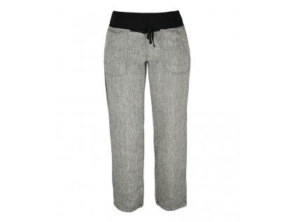 Dámské lněné kalhoty Rejoice -  Urtica (černé) (Velikost XS)