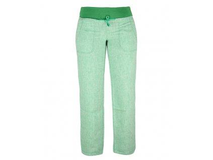 Dámské lněné kalhoty Rejoice -  Urtica (zelené) (Velikost XS)