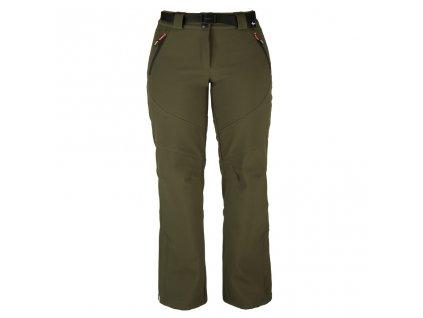 Dámské softshellové kalhoty Rejoice -  Primula (hnědé) (Velikost XS)